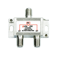 High Quality Indoor 2 way satellite Splitter(5-2400MHz)